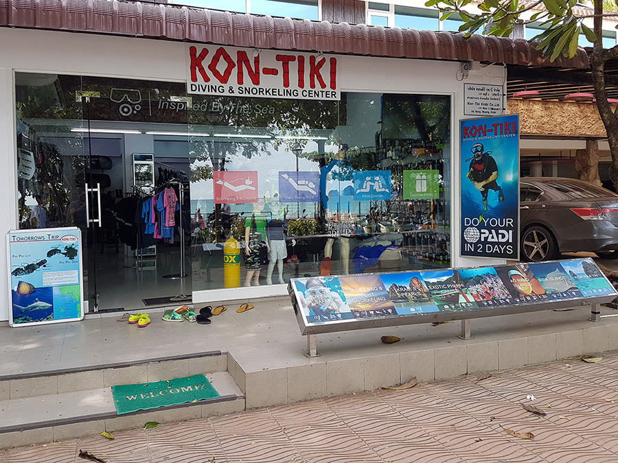 Kon Tiki Krabi new shop beach front ao nang