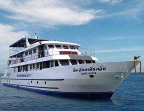 liveaboard deep andaman queen similan islands krabi ao nang thailand