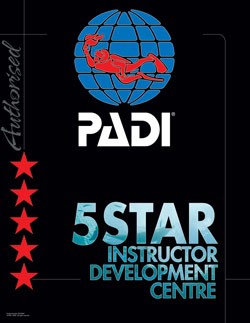 PADI 5 star IDC centre courses